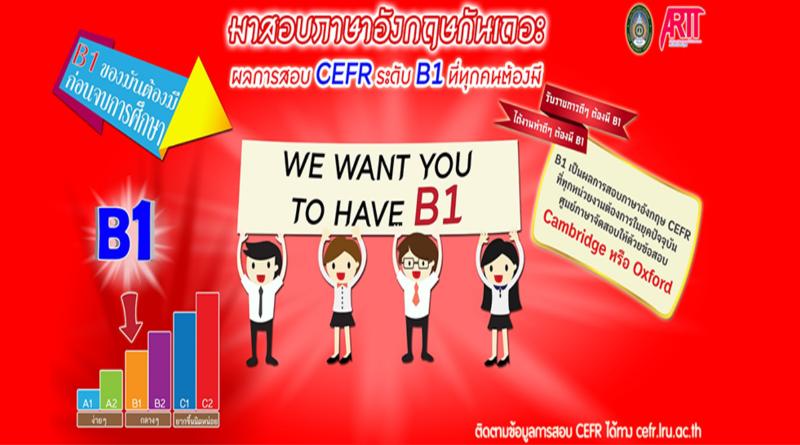 การทดสอบมาตรฐานด้านภาษาอังกฤษ CEFR